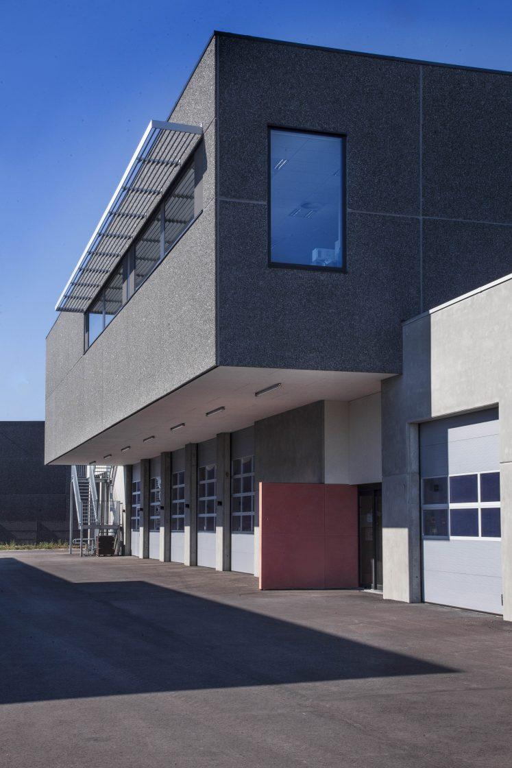 Brandweer kazerne Menen - architectuur