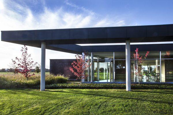 Bezinningsruimte 'Ter Beke' Menen - architectuur