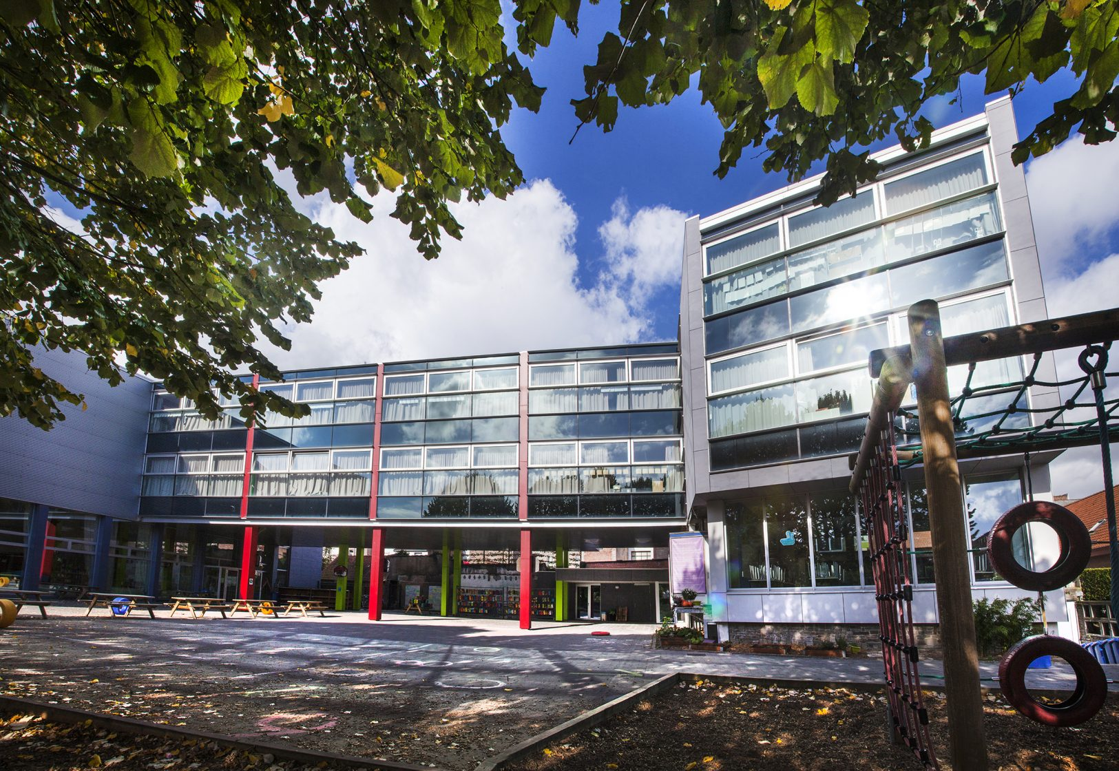Basisschool De Kleine Prins - Menen - architectuur