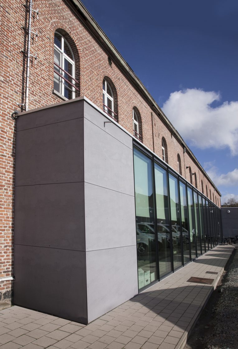 Politie kantoor Menen - architectuur