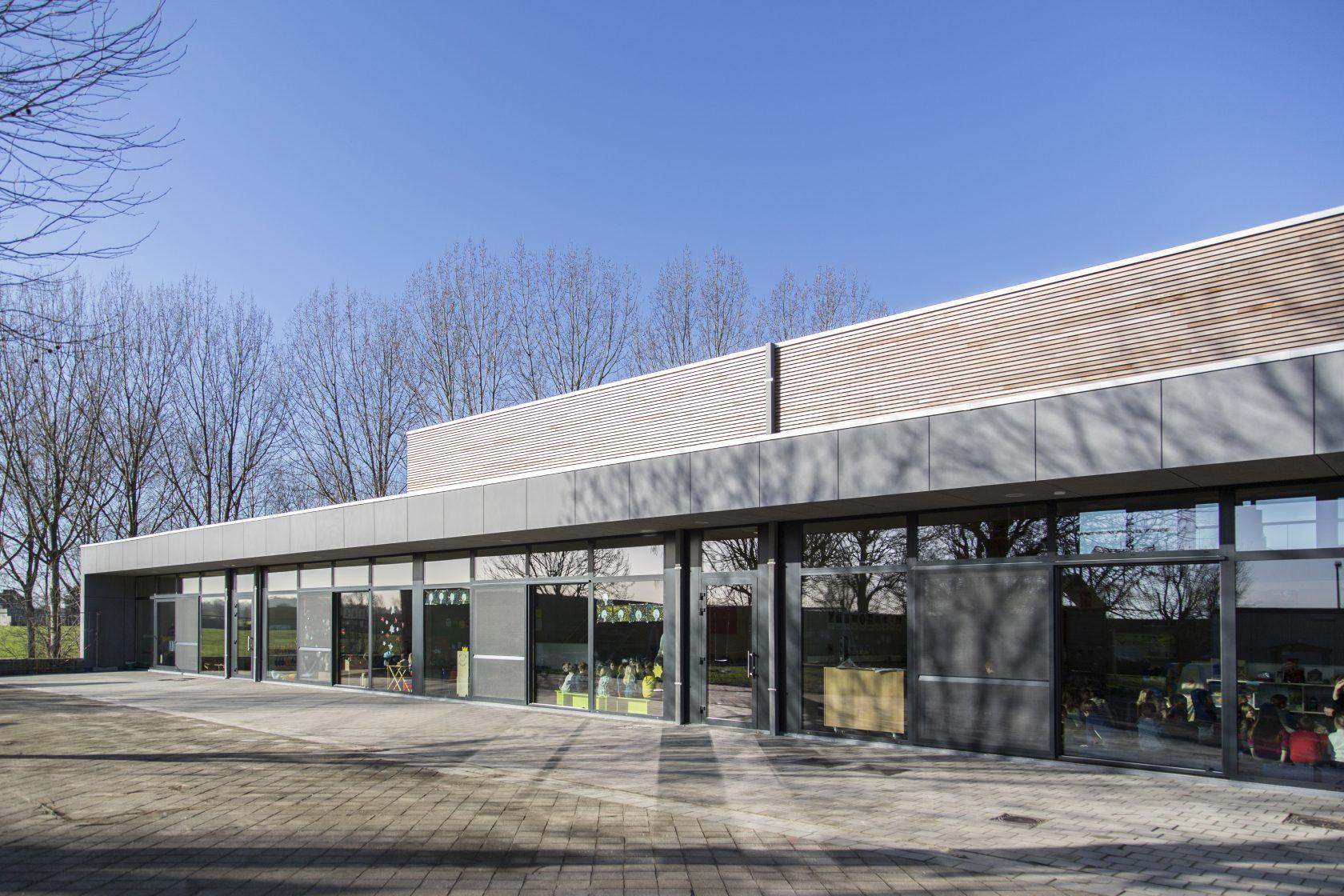 BCQ architecten - gemeentelijke basisschool Rekkem - kleuterklassen