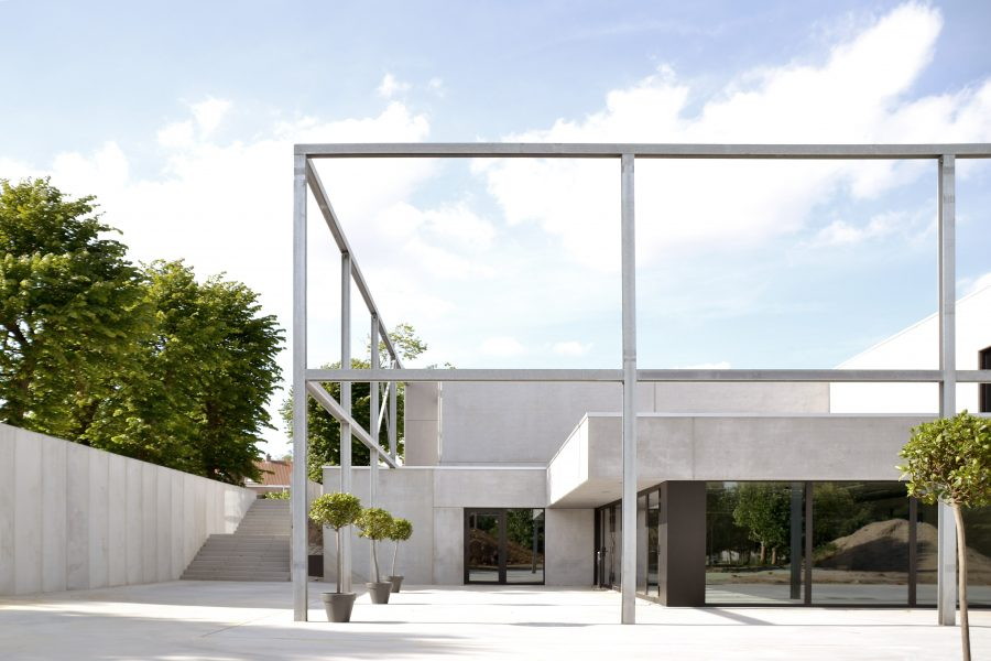 Polyvalente zaal 'Park ter Walle' te Menen - architectuur