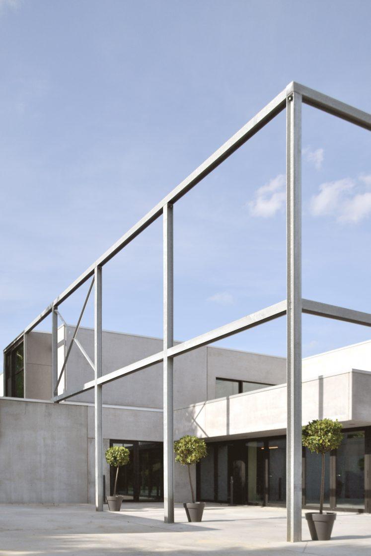 Polyvalente zaal 'Park ter Walle' te Menen – architectuur