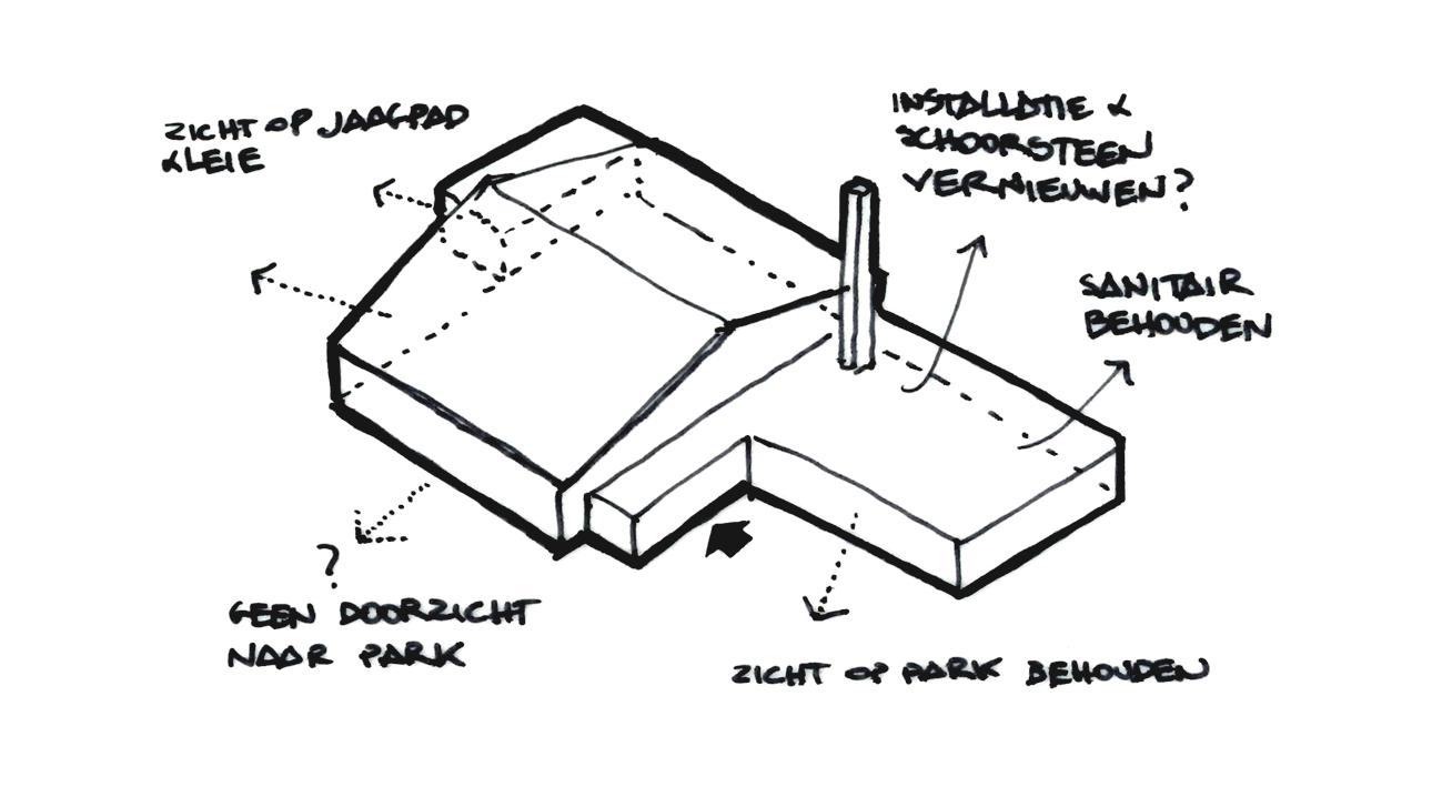 BCQ architecten - Site Oosthove - Wervik schema 01