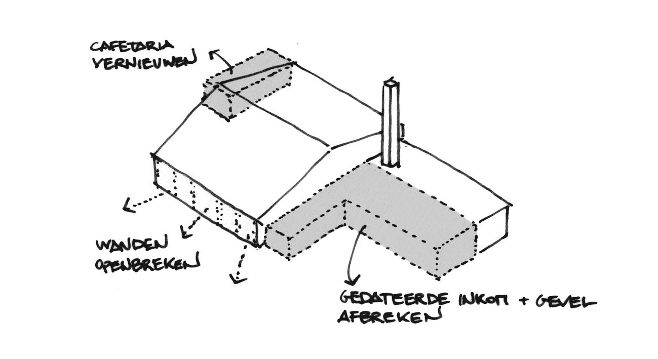 BCQ architecten - Site Oosthove - Wervik schema 02