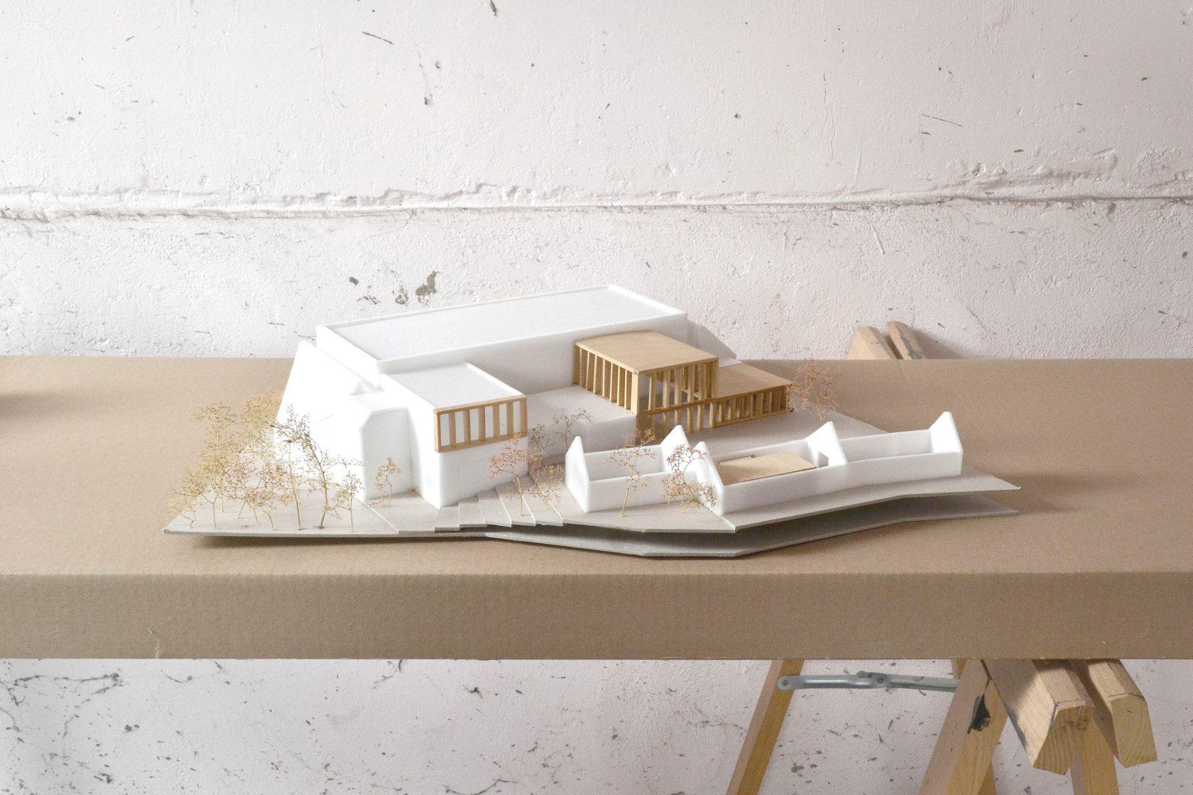 BCQ architecten & ARC - maquette 02 Aalbeke
